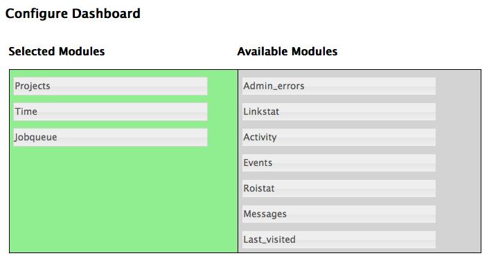 dashboard-config